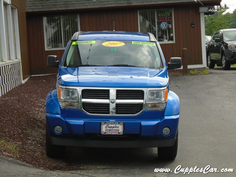 used 2007 dodge nitro 4x4 for sale in laconia nh cupples cars used cars nh. Black Bedroom Furniture Sets. Home Design Ideas