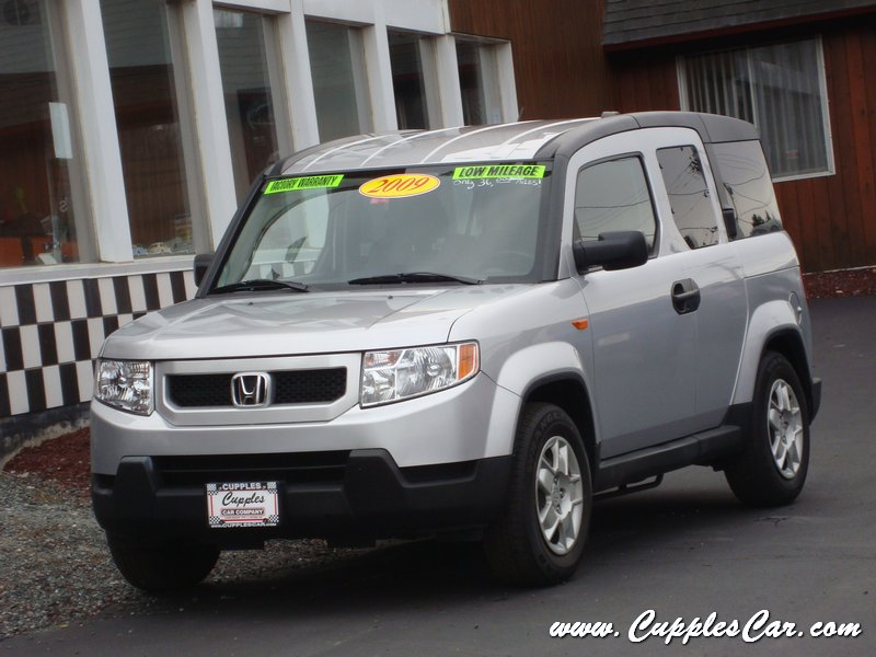 2009 honda element lx automatic 4 cylinder awd for sale in laconia nh. Black Bedroom Furniture Sets. Home Design Ideas