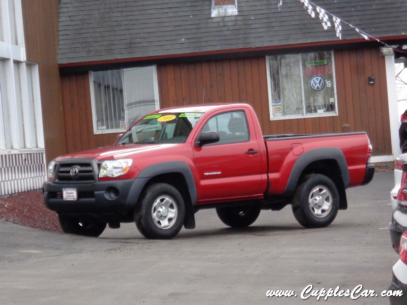 2010 toyota tacoma 4x4 regular cab manual transmission for sale in laconia nh cupples cars. Black Bedroom Furniture Sets. Home Design Ideas